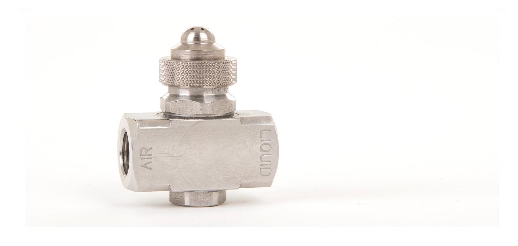 Pressure Fed Wide Round Spray Spray Nozzles Air